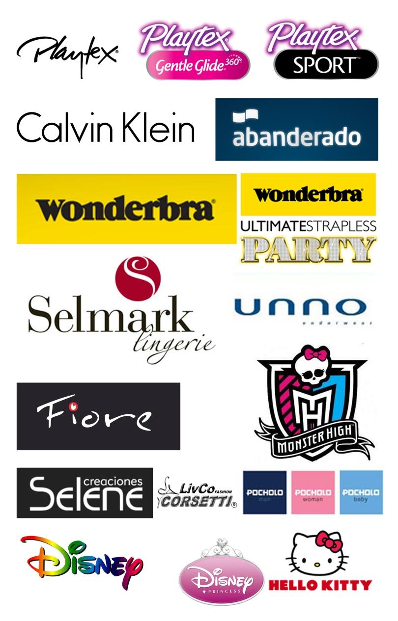 Logotipos lenceria xanthe xanthelenceria for Ropa interior marcas